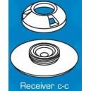 Sistema de fijacion para fundas y capotas PERFIX®- Receptor Cubierta